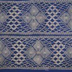 Antigüedades: ANTIGUO ENTREDOS DE ENCAJE DE BOLILLO PPIO. S. XX. Lote 104496707