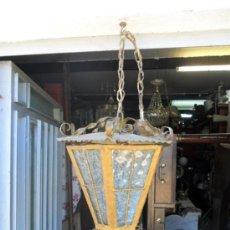 Antigüedades: FAROL ANTIGUO. Lote 76964890