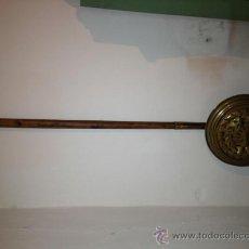 Antigüedades: ANTIGUO CALIENTACAMAS DE LATON
