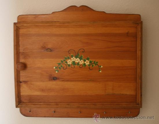 Armario en madera pintado a mano con una puerta comprar - Armarios pintados a mano ...