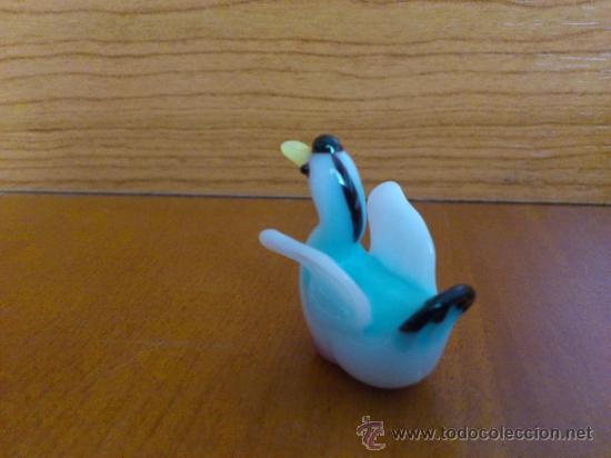 Antigüedades: Lote de tres aves en cristal de murano - Foto 7 - 37317769