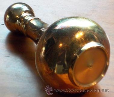 Antigüedades: CURIOSO AZUCARERO / SALERO DE METAL. - Foto 3 - 37298235