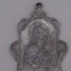 Antigüedades: MEDALLA GRANDE ANTIGUA EN ALUMINIO - ASOCIACION SANTA TERESITA DEL NIÑO JESUS,. Lote 37320183