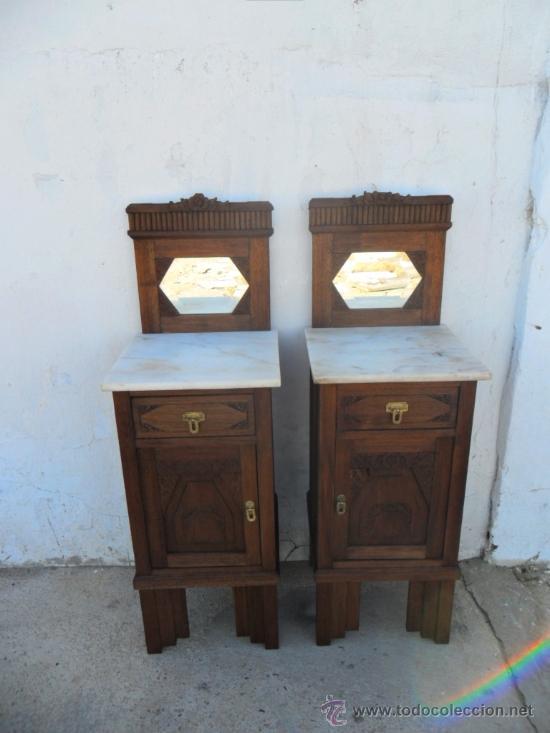 Pareja de mesillas antiguas comprar mesas antiguas en - Mesillas antiguas ...