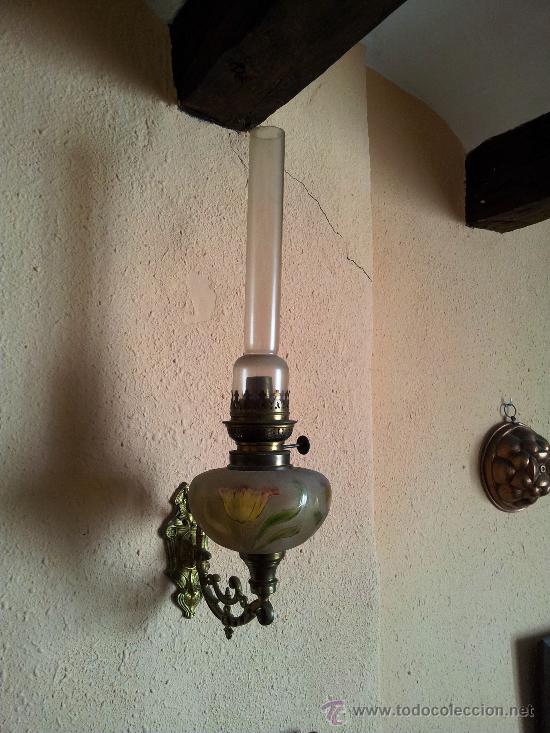 PRECIOSO APLIQUE MODERNISTA (Antigüedades - Iluminación - Apliques Antiguos)
