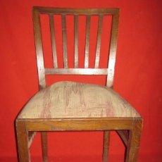 Antigüedades - Silla en madera de roble. Necesita nuevo tapizado. - 37458288