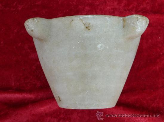 Antigüedades: Antiguo mortero o almirez en marmol - Foto 4 - 37436947