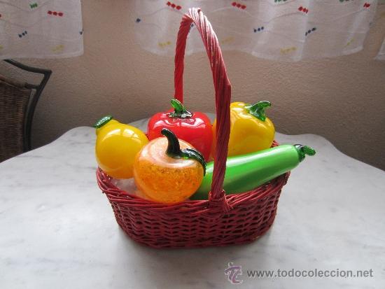 frutas y verduras de cristal de murano Comprar Murano Cristal y