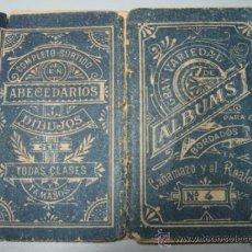 Antigüedades: ALBUMS BORDADOS Nº 4 CAÑAMAZO Y AL REALCE. Lote 37355638
