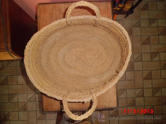 CAPAZO DE ESPARTO ANTIGUO (Antigüedades - Técnicas - Rústicas - Agricultura)
