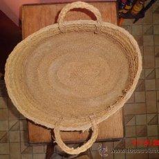 Antigüedades: CAPAZO DE ESPARTO ANTIGUO . Lote 37361361