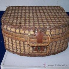 Antigüedades: ANTIGUA Y RARA DE ENCONTRAR MALETA PARA MERIENDA, INGLESA. Lote 37396735