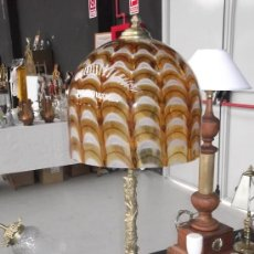 Antigüedades: LAMPARA SOBREMESA MURANO. Lote 37377657