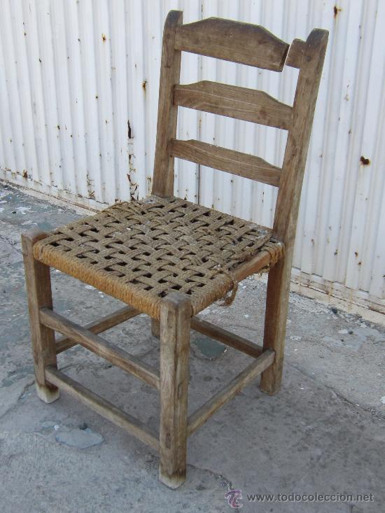 Silla en madera de morera para restaurar comprar sillas antiguas en todocoleccion 37386092 - Restaurar sillas de madera ...