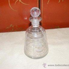 Antigüedades: LICORERA CRISTAL. Lote 143113882