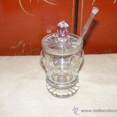 Antigüedades: PONCHERA DE CRISTAL. Lote 37495553