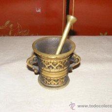 Antigüedades: MORTERO DE BRONCE. Lote 37495825