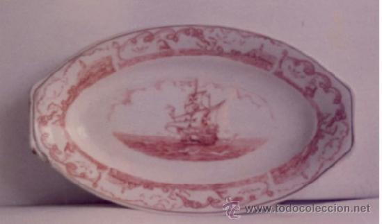 BANDEJA DE ROYAL CHINA (VIGO) (Antigüedades - Porcelanas y Cerámicas - Santa Clara)