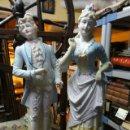 Antigüedades: PAREJA DE BISCUITS. Lote 37430008