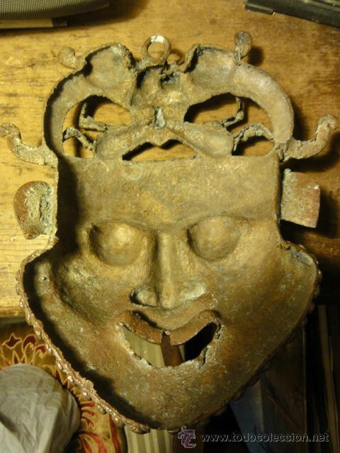 Antigüedades: MASCARA AFRICANA - Foto 2 - 37431661