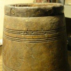Antigüedades: VASIJA DE MADERA. Lote 37431741