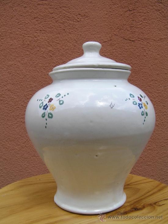 Antigüedades: COMPOTERA. SIGLO XIX. ALCORA. Preciosa. - Foto 2 - 37417063