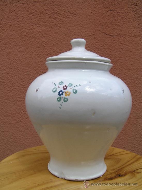 Antigüedades: COMPOTERA. SIGLO XIX. ALCORA. Preciosa. - Foto 3 - 37417063
