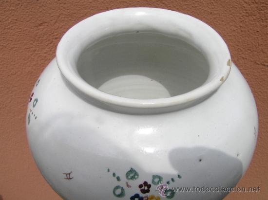 Antigüedades: COMPOTERA. SIGLO XIX. ALCORA. Preciosa. - Foto 12 - 37417063