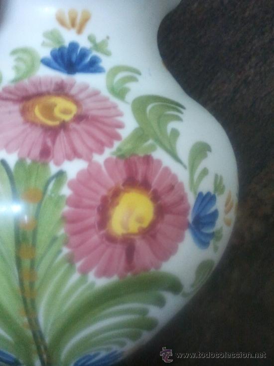 Antigüedades: JARRON CERAMICA DE TALAVERA Nº 44 - Foto 6 - 37438578