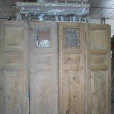 Antiques - PUERTA EXTERIOR 4 HOJAS, SIGLO XIX - 37439980