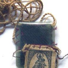 Antigüedades: PEQUEÑO ESCAPULARIO DE LA VIRGEN / . Lote 37444671