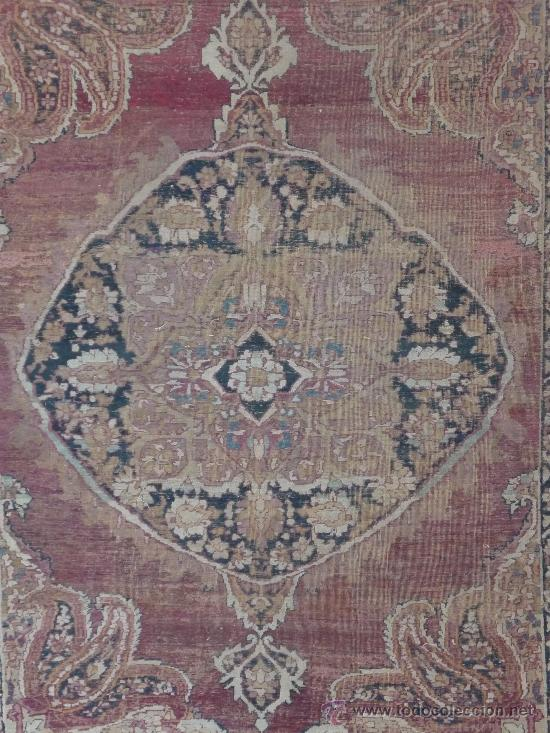 Antigüedades: ANTIGUA ALFOMBRA. PERSIA ORIENTAL. SIGLO XIX. - Foto 2 - 37455449