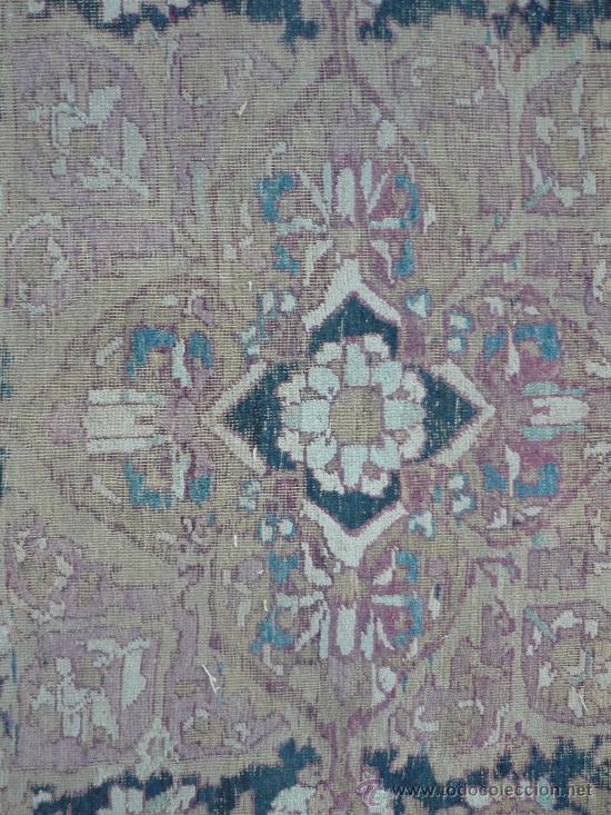 Antigüedades: ANTIGUA ALFOMBRA. PERSIA ORIENTAL. SIGLO XIX. - Foto 3 - 37455449