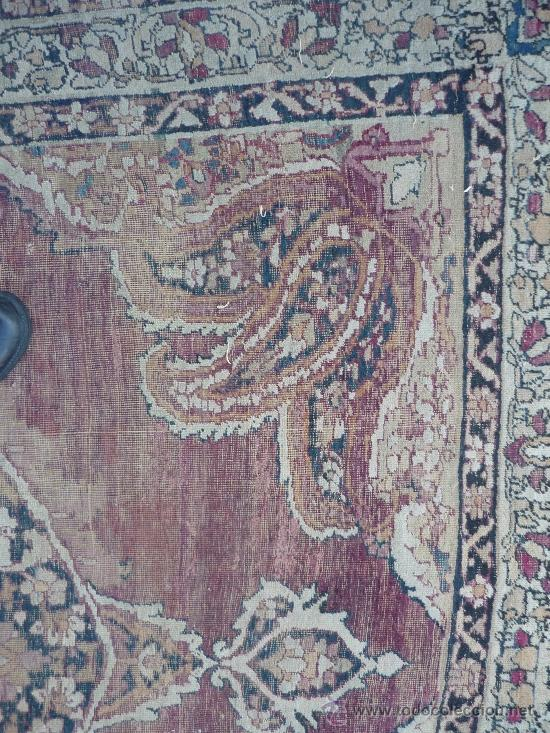 Antigüedades: ANTIGUA ALFOMBRA. PERSIA ORIENTAL. SIGLO XIX. - Foto 5 - 37455449
