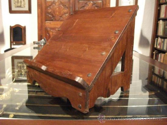 Faristol o atril de iglesia para libro o misal comprar muebles auxiliares antiguos en - Muebles atril ...