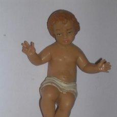 Antigüedades: NIÑO JESUS DE PLASTICO DURO. Lote 105189111