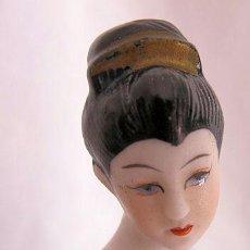 Antigüedades: PORCELANA BISCUIT GEISHA. Lote 37464238