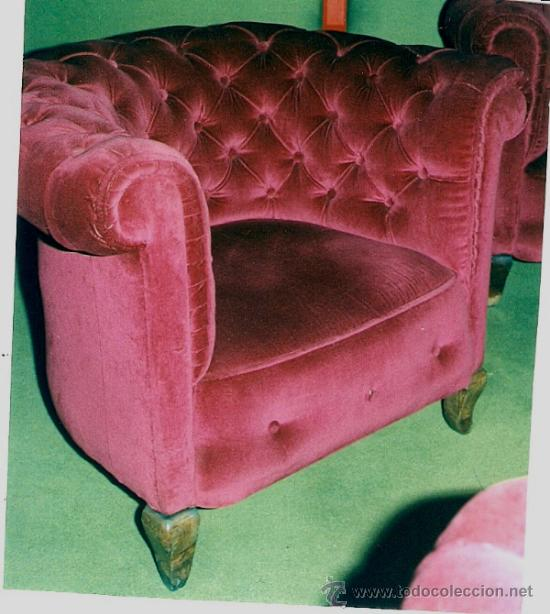 Sillon chester tapizado 1980 terc comprar - Sillones antiguos tapizados ...