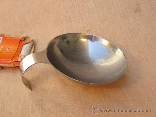 Antigüedades: UTENSILIO EN ACERO INOXIDABLE - Foto 2 - 37508042