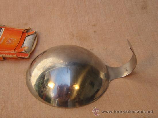 Antigüedades: UTENSILIO EN ACERO INOXIDABLE - Foto 3 - 37508042