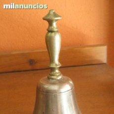 Antigüedades: CAMPANA PARA LLAMAR AL SERVICIO. Lote 37508666