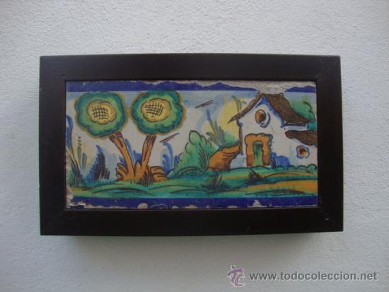 AZULEJO RAMOS REJANO (Antigüedades - Porcelanas y Cerámicas - Azulejos)