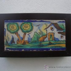 Antigüedades: AZULEJO RAMOS REJANO. Lote 37522509