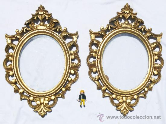 Una unidad gran marco portafotos o espejo por comprar portafotos antiguos en todocoleccion - Marcos espejos antiguos ...