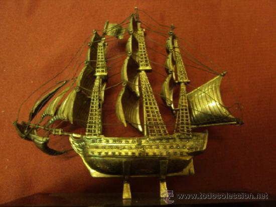 Barco gale n de plata de ley comprar plata de ley - Antiguedades de barcos ...