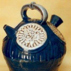 Antigüedades: BOTIJO ESMALTADO DE MANISES, LLAMADO DE INVIERNO. PRINCIPIO SIGLO XX. Lote 37550764
