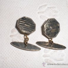 Antigüedades: GEMELOS PLATEADOS AÑOS 60.. Lote 37555459