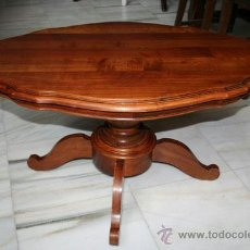 Antiques: MESITA DE CENTRO,CEREZO REF.5470. Lote 37556270