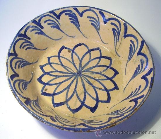 LEBRILLO DE FAJALAUZA (Antigüedades - Porcelanas y Cerámicas - Fajalauza)