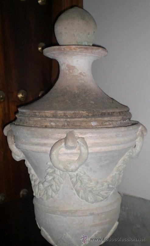 Antigüedades: Copa antigua de azotea, S.XVIII, Terracota, Gran tamaño - Foto 3 - 37565232